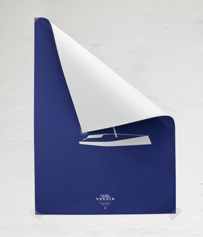 VV Poster-Segel-setzten